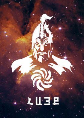 Cosmic Warrior Orange