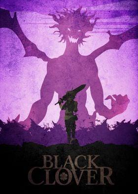 Black clover Asta demon