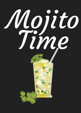 Mojito Time Metal Poster Maxdesign Displate