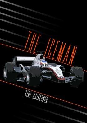 Kimi Raikkonen The Iceman