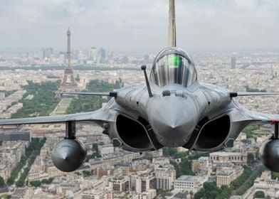 Rafale over Paris