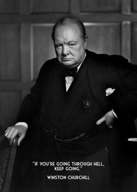 Winston Churchill Hell