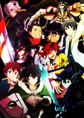 Isekai Anime Poster