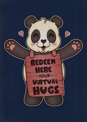 REDEEM YOUR VIRTUAL HUGS