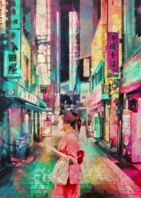 Streets in Japan
