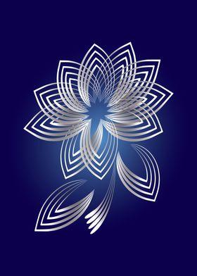 Two fallen petals