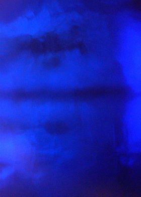 Stormy Blue Winter Dark