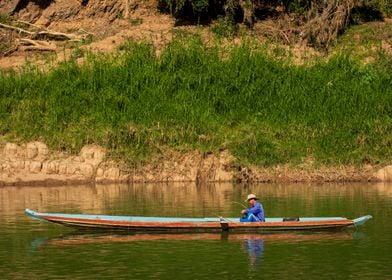 Fisherman Laos