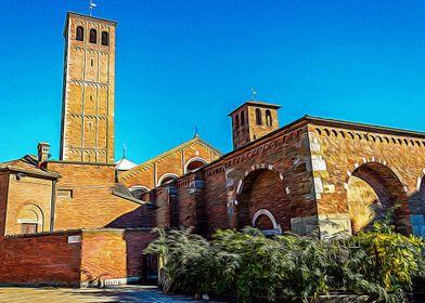 Basilica in Milan