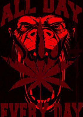 Gorilla Warfare Red
