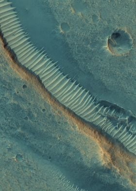 Mars Pit Crater Chains