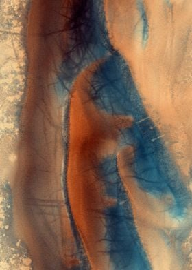 Mars Defrosted Dunes