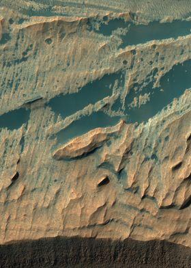 Mars Wall Rock
