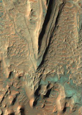 Mars Eroding Layers