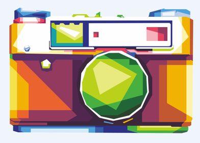 camera illustration design