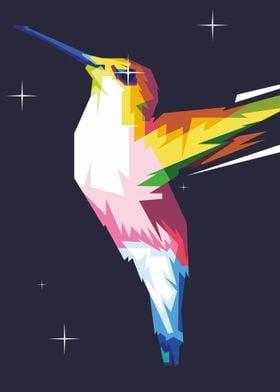 humming birds POPART