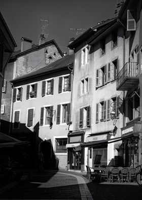 Shadows in Annecy