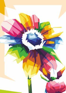 dahlias flower illustrator