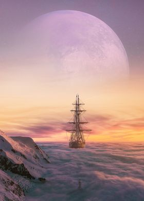 sailing above the clouds