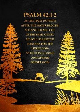 Psalm 42 1 2