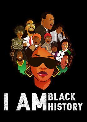 I Am Black History Month I
