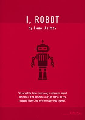 I Robot Book Art