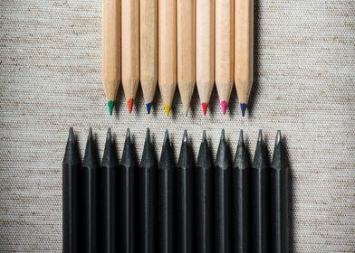 Pencils V Faction
