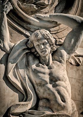 Statue in Palermo