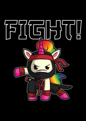 Unicorn Ninja Shinobi figh