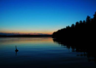 Dusk On Lake Saimaa
