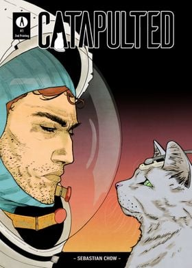 CATAPULTED Comic Cover