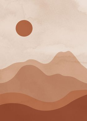 Landscape Desert Sun