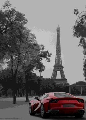 Ferrari in Paris