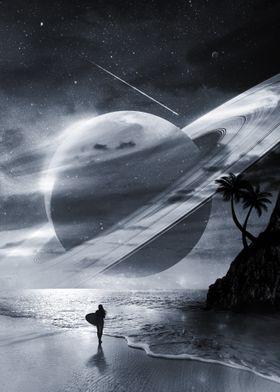 Midnight Surfer