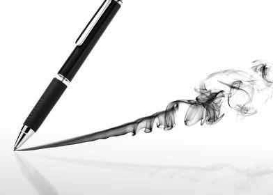 Smoking pen