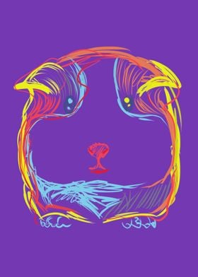 Guinea Pig Doodle