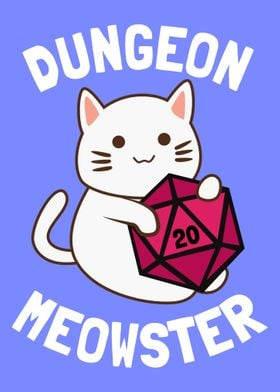 Dungeon Meowster RPG Cat