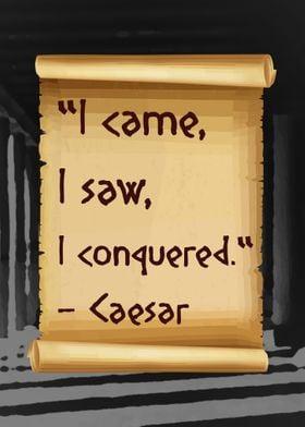 Caesar Quote