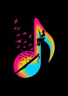 Music Bassoon Player