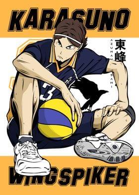 Anime Haikyuu Sports Asahi