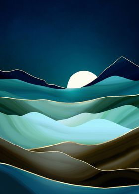 Moonlit Vista