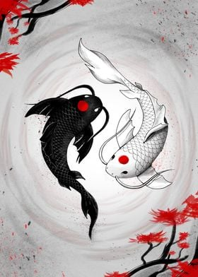 Japanese Koi Fish Vision