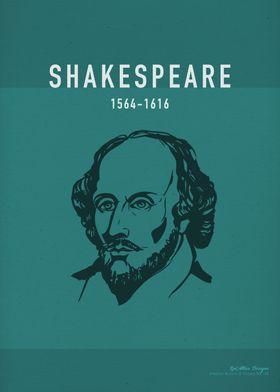 Shakespeare Author Art