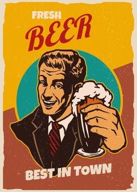 Fresh Beer Best In Town