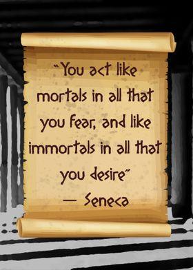 Act Like Seneca