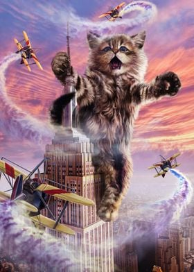 Monster Cat Empire State