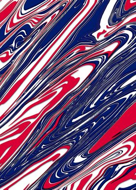 American Red White Blue