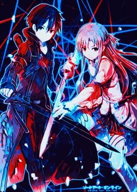 Anime SAO Kirito X Asuna