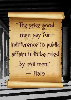 Plato indifference public