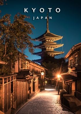 Yasaka Pagoda Night